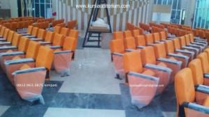 Kursi Auditoirum type LL520 pake layer di Samsat Cibinong - Bogor