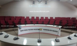 Kursi Auditorium Type LL516 di Ruang Sipakalebbi Pemkot Makassar
