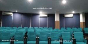 Kursi Auditorium terpasang di SMP dan SMA GIBS Banjarmasin - Kalimantan Selatan