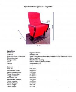 Spesifikasi-Kursi-Auditorium-LL517-PU