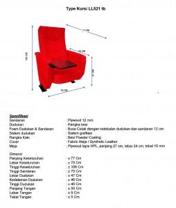 Spesifikasi-kursi-auditorium-LL521tb